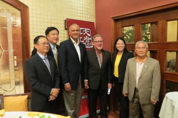 Senator Hernandez Meets w/ the Chinese Press Club