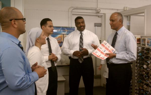 Visiting Proyecto Salud at CVS Clinic