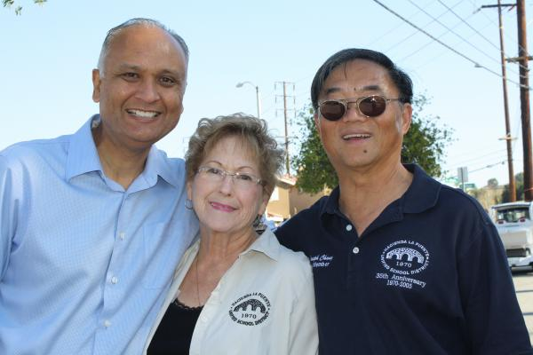 Photo w/  Rowland Unified School Board Trustees