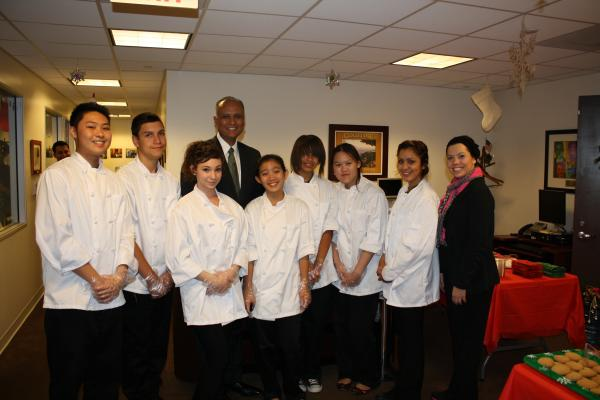 Rosemead High School's Culinary Arts Students